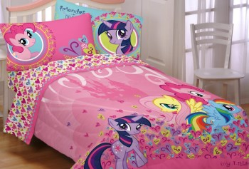 Post image for Amazon-Hasbro My Little Pony Heart to Heart Twin Comforter for Children $43.11 Shipped!