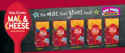 Post image for Kroger Freebie: Betty Crocker Mac & Cheese!