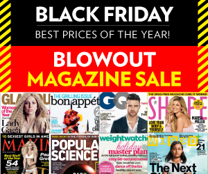 Post image for Black Friday Blowout Magazine Sale