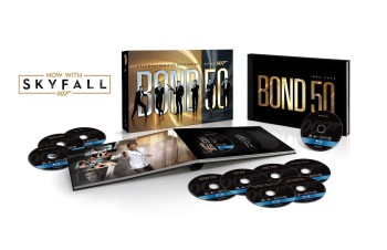Post image for Bond 50: The Complete 23 Film Collection with Skyfall [Blu-ray]-$99.99