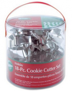 Post image for Amazon-Wilton Holiday 18 pc Metal Cookie Cutter Set $8.97