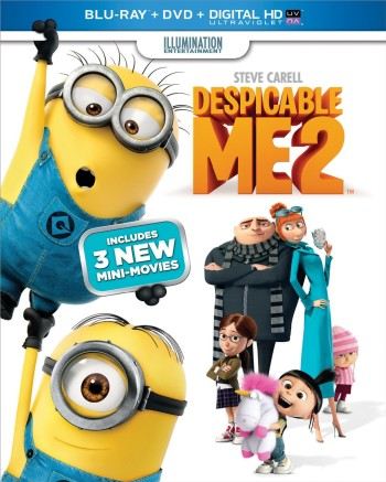 Post image for Despicable Me 2 (Blu-ray + DVD + Digital HD with UltraViolet) Pre-Order