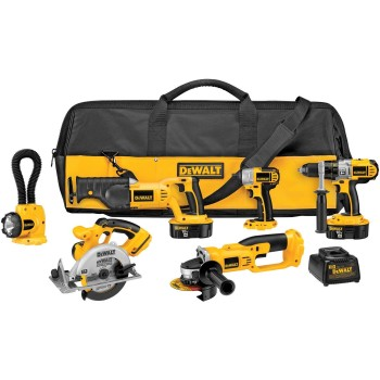 Post image for DEWALT DCK655X 18-Volt XRP 6 Tool Combo Kit with Impact Driver