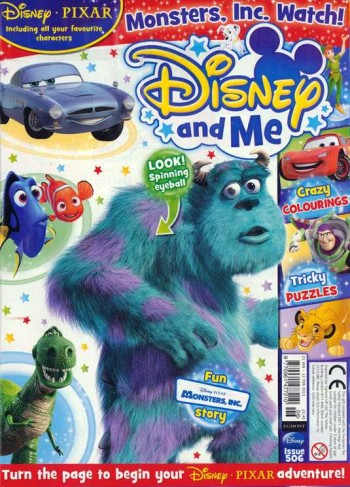 Post image for 1 Year Disney and Me Magazine Subscription $13.99