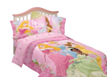Post image for Disney Princess Sale: Dainty Princess Microfiber Twin Sheet Set $19.88