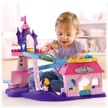 Post image for Fisher-Price Little People Disney Princess Klip Klop Stable-$29.99