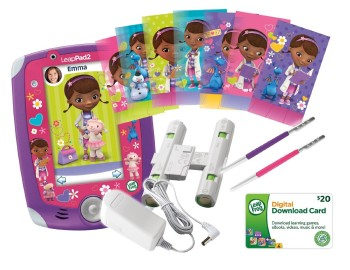 Post image for HOT: Amazon LeapFrog LeapPad2 Power Learning Tablet Doc McStuffins Bundle $64