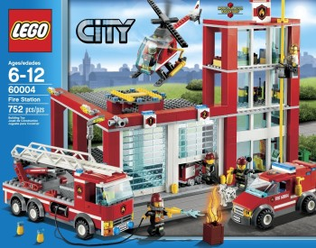 Post image for Amazon-City Fire Station 60004 $72.99 Shipped