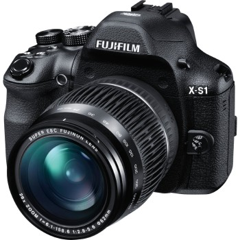 Post image for Fujifilm X-S1 12MP EXR CMOS Digital Camera with Fuijinon F2.8 to F5.6 Telephoto Lens and Ultra-Smooth 26x Manual Zoom (24-624mm)-$379 Shipped