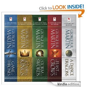 Post image for A Game of Thrones 5-Book Boxed Set (Song of Ice and Fire Series) Kindle Edition Only $9.99