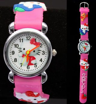 Post image for Amazon-Hello Kitty 3D Watch $3.29 Shipped