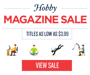 Post image for Hobbies Magazine Sale Today Only