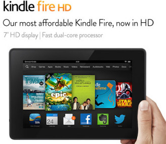 Post image for FREE $15 Amazon Card with 7″ Display Kindle Fire HD Purchase: TODAY ONLY