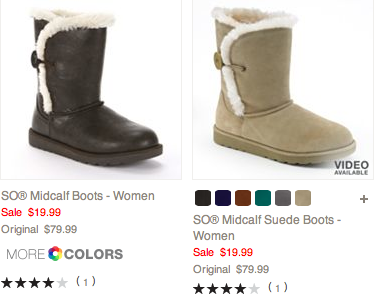 Post image for Black Friday Now: BOOTS at Kohls- $19.99 Plus Coupon Code
