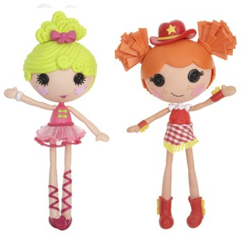 Post image for Lalaloopsy Dolls Ballerina/Cowgirl Double Pack-$16.99