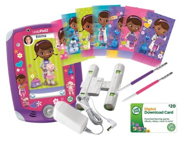 Post image for LeapPad2 Power Doc McStuffins Tablet & Bundle $89.99 Shipped!