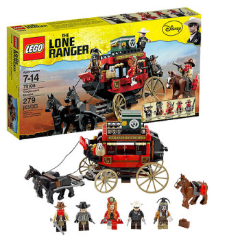 Post image for GONE: LEGO Lone Ranger Stagecoach Escape Play Set 50% off