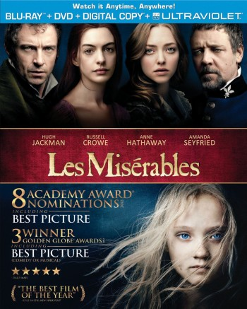 Post image for Amazon: Les Miserables (Blu-ray + DVD + Digital Copy + UltraViolet) $9.99