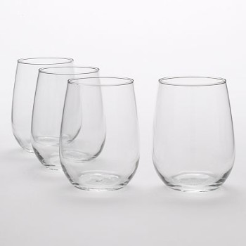 Post image for Libbey Vina Stemless 17-Ounce White Wine Glasses, Set of 4-$8.97
