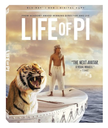 Post image for Life of Pi (Blu-ray + DVD + Digital Copy)-$8.99