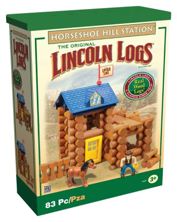 Post image for Amazon: Lincoln Log Horseshoe Hill Station $12.97