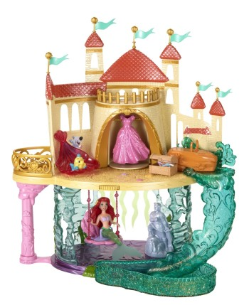 Post image for Disney Princess The Little Mermaid Castle Playset-$24.99