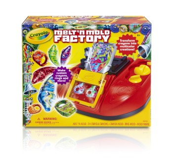 Post image for Crayola Melt 'N Mold Factory-$33.99