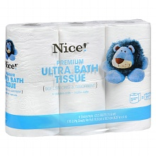 Post image for Walgreens: Nice! Toilet Paper 6-packs $1.25