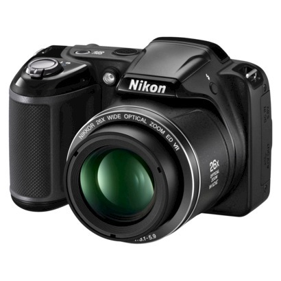 Post image for Target: Nikon L320 16.1MP Digital Camera with 26x Optical Zoom – Black $99