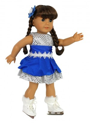 Post image for American Girl Doll 3 Piece Ice Skating Outfit and Skates $14.95