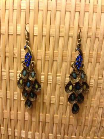 Post image for Amazon-Retro Peacock Earrings Just $.79 Shipped!