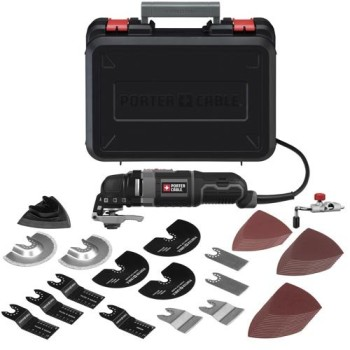 Post image for Amazon Daily Deal 11/4: PORTER-CABLE Oscillating Multitool Kit $79
