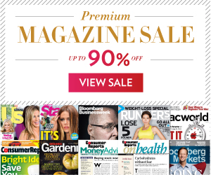 Post image for Premium Magazine Sale