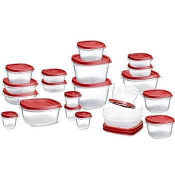 Post image for Amazon: Rubbermaid Easy Find Lid Food Storage Set $15.99