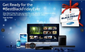 Post image for Black Friday NOW: Samsung Televisions