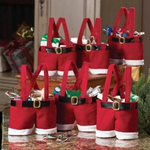 Post image for Santa Pants Gift And Treat Bags $9.93 Shipped