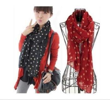 Post image for Amazon-Polka Dot Scarf Under $2.00 Shipped!