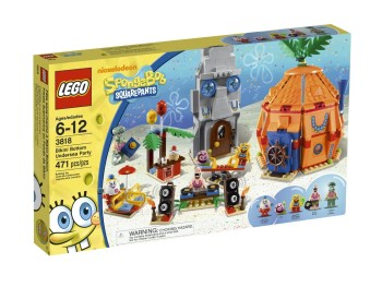 Post image for LEGO SpongeBob Bikini Bottom Undersea Party 3818-$34.99
