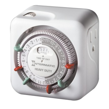 Post image for Amazon-Intermatic 15 Amp Heavy Duty Grounded Timer $11.43