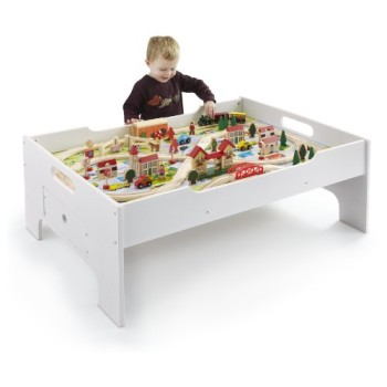 Post image for Amazon-Hot Deal-80-pc Deluxe Train Set AND Table $59.99