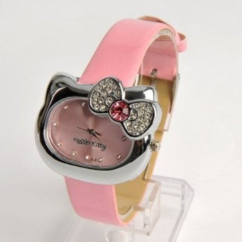 Post image for Amazon-Hello Kitty Girls Wristwatch Pink $5.40 Shipped