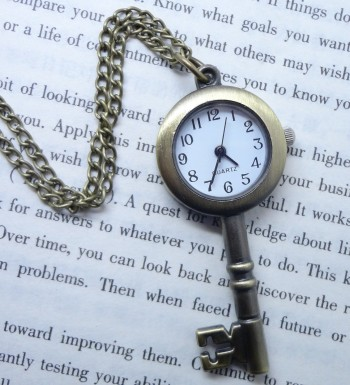 Post image for Pocket Watch Necklace Just $1.90 Shipped