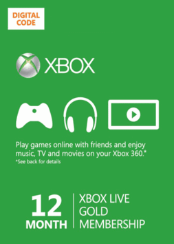 Post image for GONE: 12-Month Xbox Gold Live Card on Sale for $39.99!