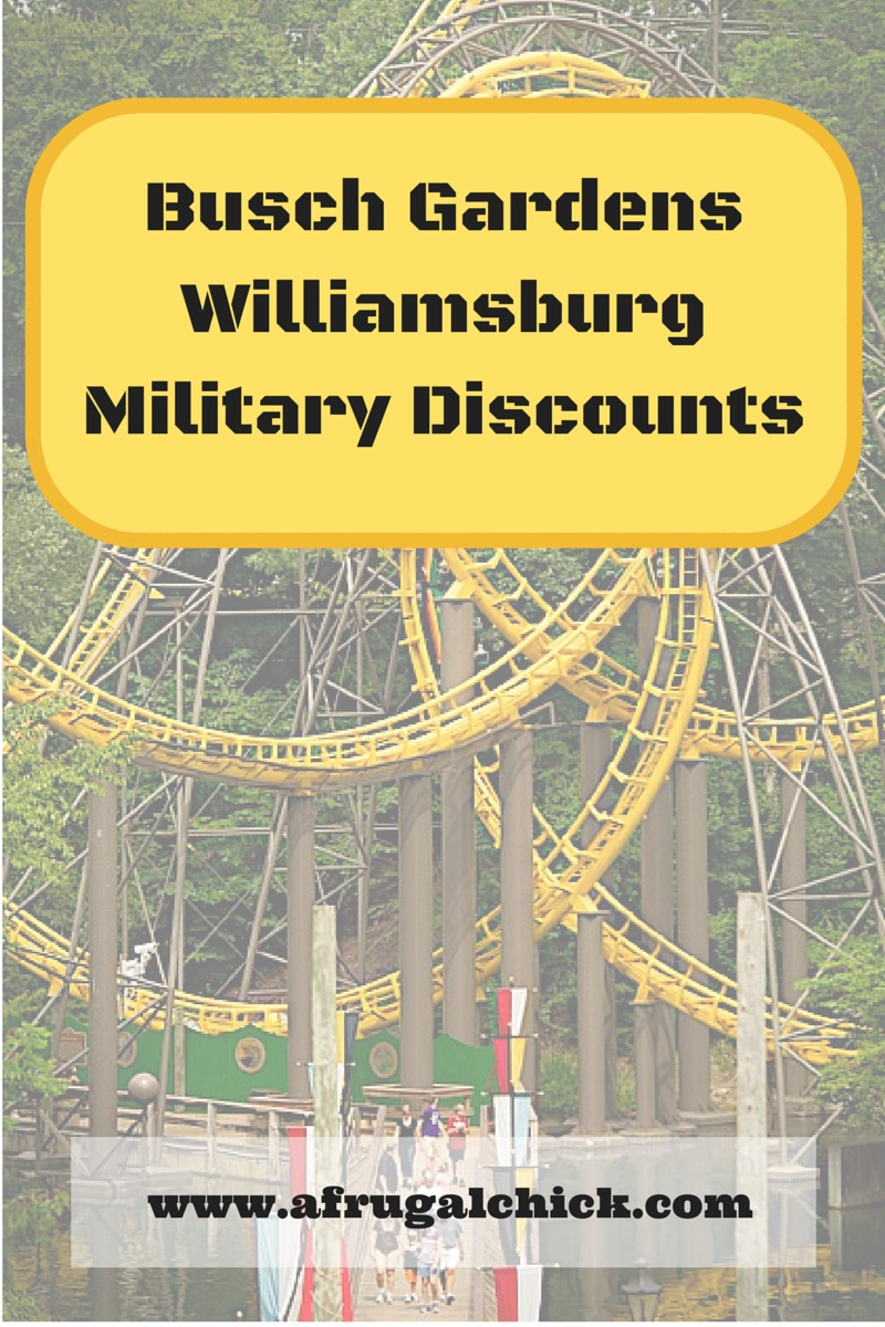Busch Gardens Military Discounts Updated For 2018