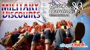 Military Veterans Active Retired And Honorable Discharged 50 Off Busch Gardens Tickets