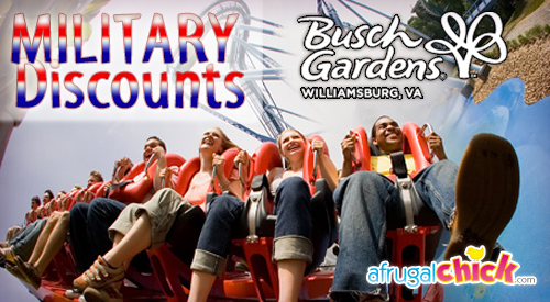 Post image for Busch Gardens Military Discounts