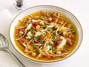 Chickpea Chicken Noodle Soup