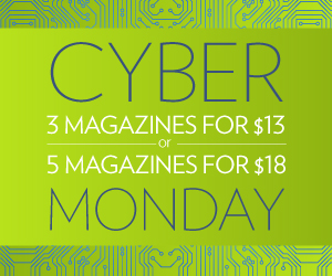 Post image for Cyber Monday Magazine Sale