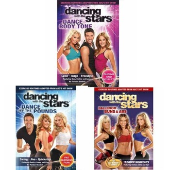 Post image for Dancing With The Stars Fitness Exercise Workout DVD's 3-Pack-$19.95 Shipped