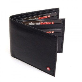 Post image for Men's Leather Wallet Euro Traveler $12.99 Shipped